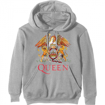 "QUEEN ""Classic Crest"" Hooded Sweatshirt"
