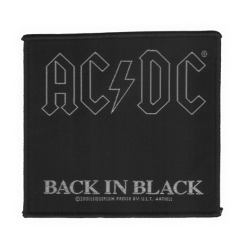 "AC/DC ""Back in Black"" Patch"