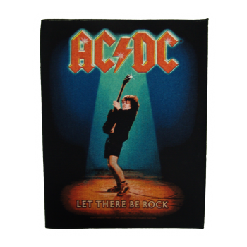 "AC/DC ""Let There Be Rock"" Backpatch"