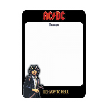 "AC/DC ""Highway To Hell"" Memoboard - SPECIAL OFFER !"