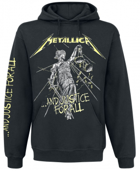 "METALLICA ""And Justice For All ..."" Hooded Sweatshirt"