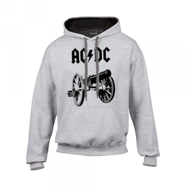 Ac//Dc Hooded Sweater for Those about to Rock Official Hoodie Acdc Rock N Roll