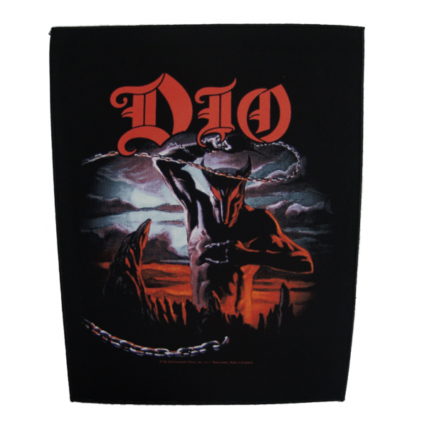 "DIO ""Holy Diver"" Backpatch"