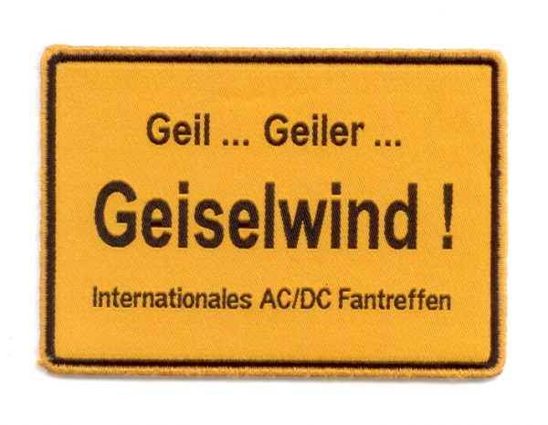 "AC/DC ""International Fanmeeting Geiselwind"" Patch"