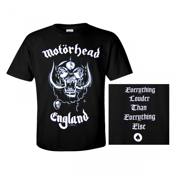 motorhead t shirt england mot rhead lemmy kilmister. Black Bedroom Furniture Sets. Home Design Ideas