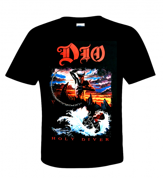 Ronnie James Dio Official T-Shirt Holy Diver - U.S.Metal - Best Rock Singer